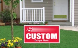12″x24″ Corrugated Plastic Sign